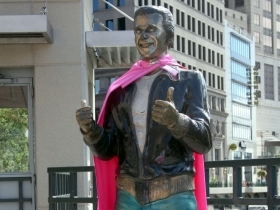 Superhero Bronze Fonz.
