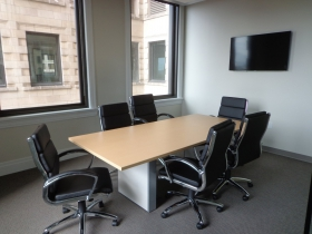 Small meeting room.