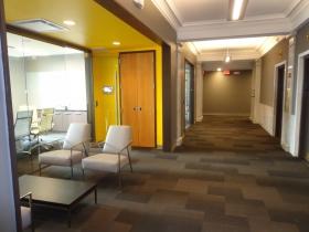 Nice new hallway.