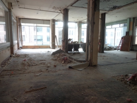 This space is still being renovated.