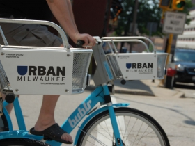 Urban Milwaukee Bublr Bike