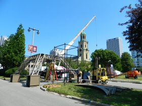 Preparations for Bastille Days 2015