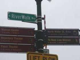 E. State street and N. RiverWalk Way
