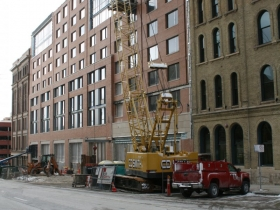 Milwaukee Marriott Downtown Hotel Construction