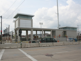 MSOE Athletic Field and Parking Complex under construction. Photo by Dave Reid.