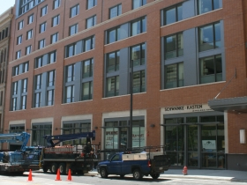 The new Marriott will open in June 2013.