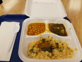 Food Tray from Shah Jee's