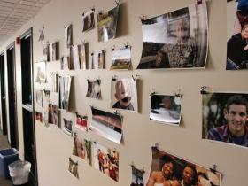 Freelance photographers office