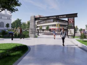 MSOE Campus Green Rendering