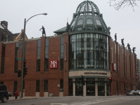 Grohmann Museum on E. State Street and N. Broadway