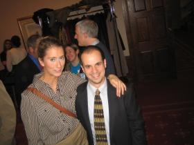 Grace Fuhr and Jonathan Brostoff.