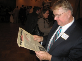 Gary Goyke reading a Horne story from 1991 Downtown Edition.