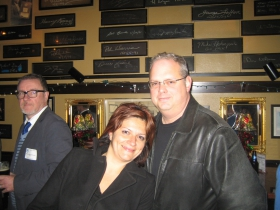 Mariiana Tzotcheva and Dave Reid.