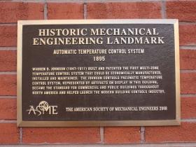 Historic Mechanical Engineering landmark