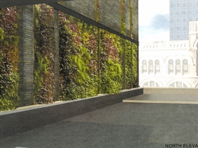 Vegetated Wall Plan for Kinn Hotel