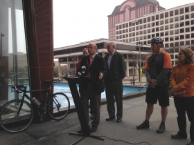 Ald. Kovac says bicyclists are automobile drivers friends.