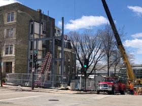 1245-1247 N. Milwaukee St. Construction
