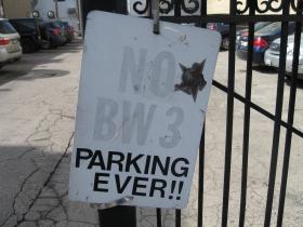 No BW 3 Parking Ever