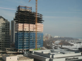 View of Northwestern Mutual Tower & Commons