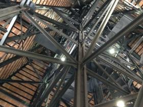 Deep inside City Hall.