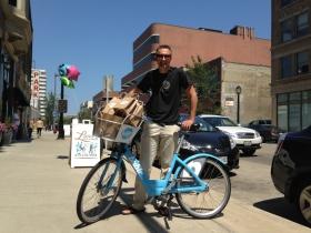 Kevin Hardman, of Bublr Bikes.