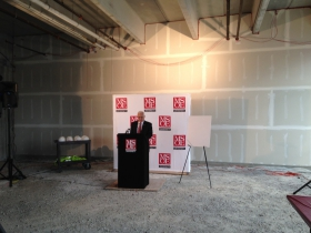 Dr. Hermann Viets speaks about the MSOE Tower Apartments.