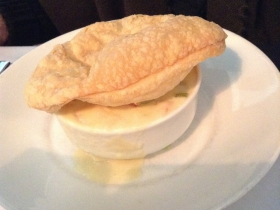On The Menu at Buckley's: Chicken pot pie