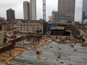 Northwestern Mutual Apartment Tower Construction