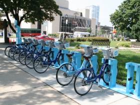 Bublr Bikes at Red Arrow Park
