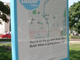 Bublr Bikes Map