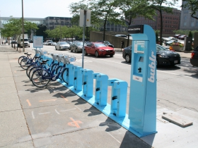 Bublr Bikes at US Bank Center