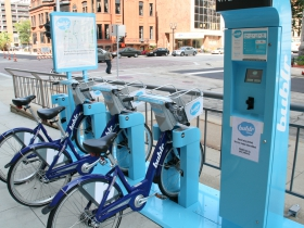 Bublr Bikes at 411 Building