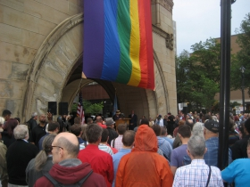 City Hall Vigil For Orlando Victims