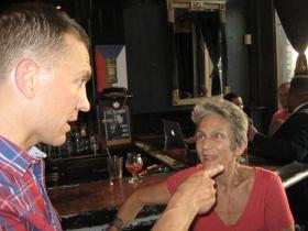 Chris Larson and Julilly Kohler