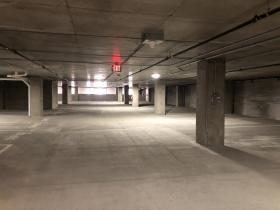 Parking Garage at Huron Building