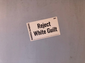 White Supremacy Sticker