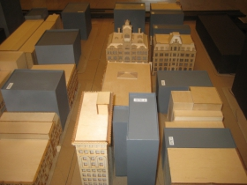 Model of downtown