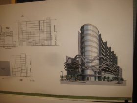 Proposed building rendering