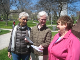 Accepting funds to restore the park