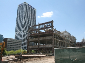 East Building Deconstruction with the US Bank Center
