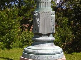 World War I Memorial Flagpole.