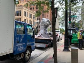 Blob Monster by Tony Tasset