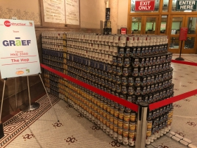 The Hop Canstruction