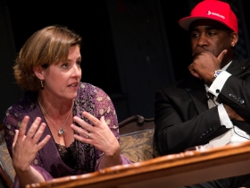 Laura Bray and Kalan Haywood at Envisioning the Seen.