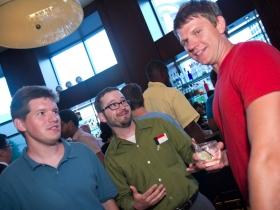 Jeramey Jannene, Dave Steele, and Chris Socha
