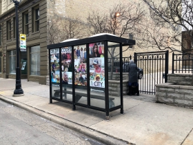 28 ZIP Codes, 1 City Bus Art Installation