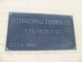International Exports Ltd. Photo by Audrey Jean Posten.