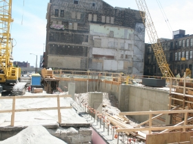 East Town Marriott Hotel Construction.