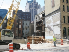Friday Photos: Marriott Hotel Begins to Rise