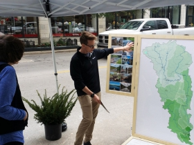 Kahler Slater and Milwaukee Riverkeeper present map of Wisconsin River basin